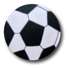 "<strong>One World</strong> 3"" Soccer Ball Knob"