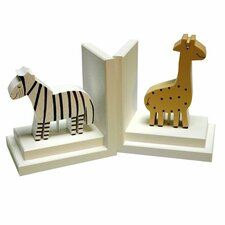 Giraffe / Zebra Book Ends (Set of 2)