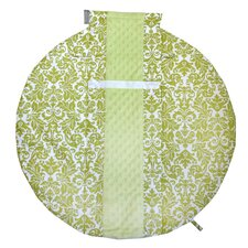 Wrap and Roll Infant Carrier Avocado Damask Arm Pad and Tummy Time Mat