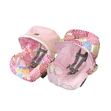 Baby Ritzy Rider Infant Fresh Bloom Car Seat Cover