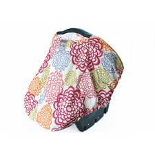 Peek-A-Boo Pod Fresh Bloom Car Seat Handle