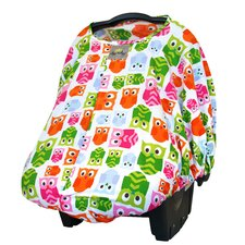 Peek-A-Boo Pod Infant Carrier Hoot Car Seat Handle