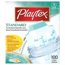 <strong>Playtex</strong> Standard Bottle Liners 4 oz 100 count