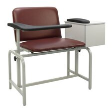 <strong>Winco Manufacturing</strong> Extra Large Blood Drawing Chair with Drawer