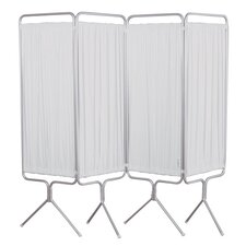 4 Panel Aluminum Folding Privacy Screen
