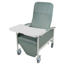 Infinite Positions Caremor Recliner with Tray