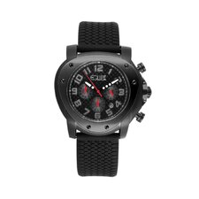 Grille Men's Watch with Black Case and Dial