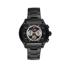 Dash Men's Watch in Black Metal
