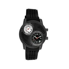 Octane Men's Watch with Black Case and Black / White Dial