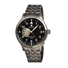 <strong>J Springs</strong> Semi-skelton Automatic Men's Watch
