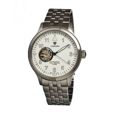 Semi-skelton Automatic Men's Watch