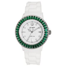<strong>Jet Set</strong> Addiction Limited Ladies Watch with Green Bezel