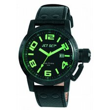 San Remo Men's Watch in Black with Green Dial