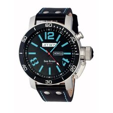 San Remo Men's Watch with Black / Blue Dial