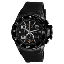 Palermo Men's Watch in Black
