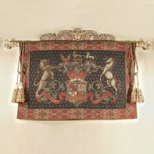 <strong>Tapestries, Ltd.</strong> European Jacquard-woven Olde World Crest Tapestry