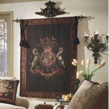 Olde World Crest Tapestry