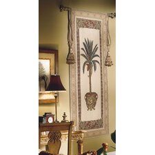 Olde World Palm Tree Tapestry