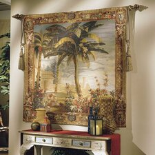 Asian Palm Tapestry