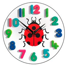 Ladybird Children's Wall Clock