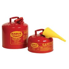 <strong>Eagle</strong> Type l Safety Cans - 1gal. type 1 safety canw/f-15 funn
