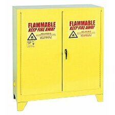 Flammable Liquid Storage - 30 Gallon Safety Storage Cabinet in Yellow