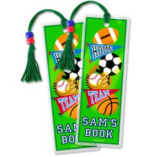 Game On Personalized Bookmark (Set of 2)