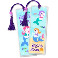 Mermaids Personalized Bookmark (Set of 2)