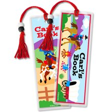Ride 'em Personalized Bookmark (Set of 2)