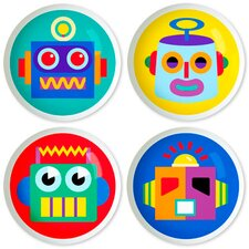 "<strong>Olive Kids</strong> Robots 2"" Round Knob (Set of 4)"