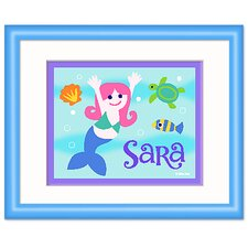 Mermaids Personalized Framed Print