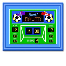 Game On Soccer Large Personalized Framed Art