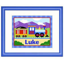 Train Personalized Framed Art