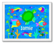 Something Fishy Personalized Framed Art
