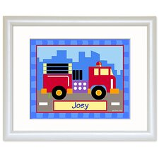 Trains, Planes and Trucks Personalized Print
