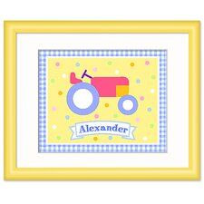 Country Baby Personalized Framed Art