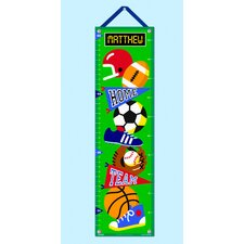 Game On Personalized Growth Chart