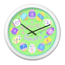 "<strong>Olive Kids</strong> Easter 12"" Personalized Wall Clock"
