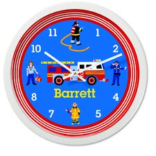 "<strong>Olive Kids</strong> Heroes 12"" Personalized Wall Clock"