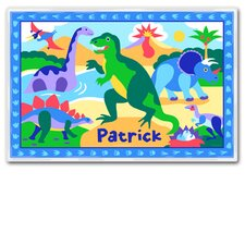 Dinosaur Land Personalized Placemat