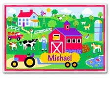 Country Farm Personalized Placemat