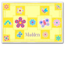 Flower Land Personalized Placemat