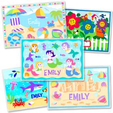 Five Packs Summer Fun Personalized Placemat