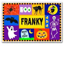 Halloween Celebration Personalized Placemat