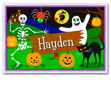 Halloween Ghost Personalized Placemat