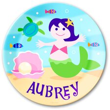 <strong>Olive Kids</strong> Mermaids Personalized Kids Plate