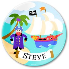 Pirates Personalized Kids Plate