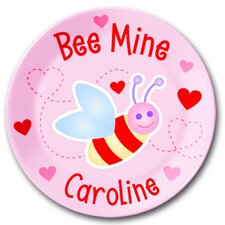 Bee Mine Personalized Kids Plate