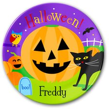 Halloween Personalized Kids Plate