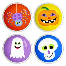 "Halloween 1.5"" Round Knob (Set of 4)"